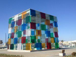 """El Cubo"" steht direkt an der größten Flaniermeile Málagas. Bildquelle: pixabay.de"