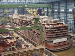 Auch die Meyer-Werft in Papenburg bei der Ems ist Teil der Route. Bildquelle: ERIH.de