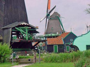 Auch die niederländischen Windmühlen sind Teil der europäischen Industriegeschichte. Bildquelle: ERIH.de