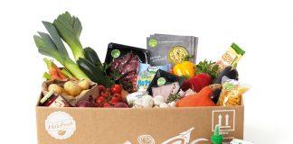 Die Kochbox von Hello Fresh wird Ihnen bequem nach Haus geliefert. Quelle: Hello Fresh