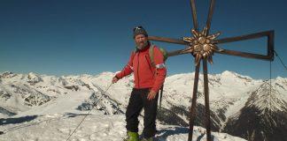 Bergführer Ulrich Kössler auf Tour im Meraner Land. - Marketinggesellschaft Meran