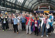Wie schon hier in Hamburg, wird morgen auch der erste Senioren-Flashmob in Düsseldorf stattfinden. Bildquelle: wegeausdereinsamkeit.de