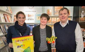 Im Verlag Merlin & Little Tiger hat die Tigerente ihr Zuhause. Quelle: 59plus/Mattin Ott