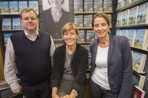 Mike Altwicker mit Dora Heldt und Simone Brüggemann Quelle: 59 Plus