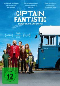 Captain_Fantastic: DVD Cover, Quelle: © 2012 UNIVERSUM FILM GMBH - ALLE RECHTE VORBEHALTEN