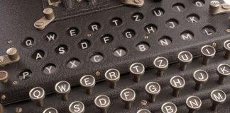 Die Enigma - brisante Nachrichten rätselhaft verschlüsselt. Quelle: Shutterstock.com