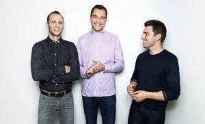 Die Gründer von airbnb. Quelle: airbnb