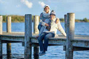 Unbedingt auch in den kühlen Jahreszeiten an die frische Luft gehen! Quelle: Shutterstock.com
