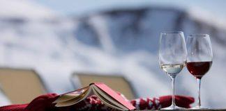 """Achtelen heißt übersetzt """"ein Glas Rotwein"""". - Marketinggesellschaft Meran"""