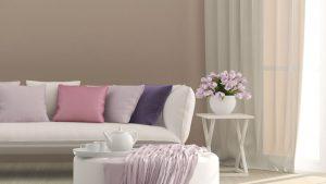 Pastellfarben schaffen eine wohlige Wohn-Atmosphäre.