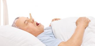 Die Ursachen für Schnarchen können ganz unterschiedlich sein. Quelle: Shutterstock.com