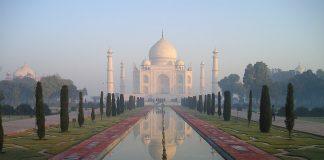 Das berühmte Taj Mahal in Agra. - Pixabay.de