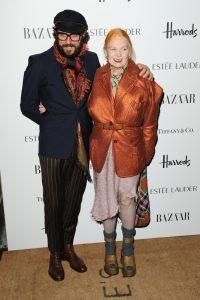 Vivienne Westwood mit Ehemann.