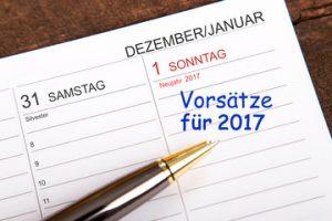 Der Jahreswechsel ist immer der Beginn der guten Vorsätze. Quelle: Fotolia.com