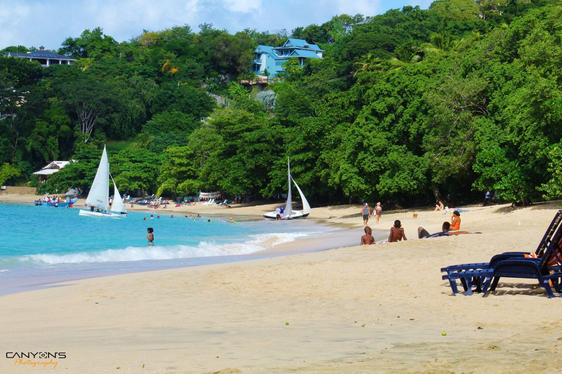 Der wunderschöne Princess Margaret Beach auf Bequia. Quelle: © Canyon´s Photography Bequia
