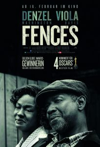 FENCES Hauptplakat, Quelle: © 2016 Paramount Pictures. All Rights Reserved.