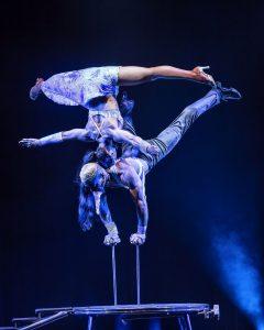 Großartige Artisten präsentieren Akrobatik auf höchstem Niveau. Quelle: GOP.