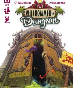 """Gesellschaftsspiel """"Willkommen im Dungeon"""". Quelle: Willkommen im Dungeon, Iello"""