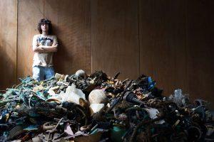 An Land soll der Müll dann sortiert und recycelt werden. Quelle: The Ocean Cleanup Projekt