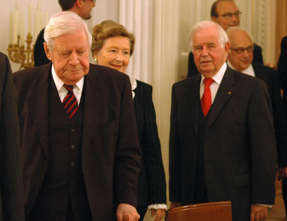 Helmut Schmidt. Quelle: Shutterstock.com