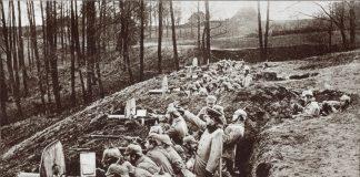 Der Begriff nullachtfühnfzehn entstand im ersten Weltkrieg. Quelle: Shutterstock.com