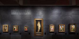 """Ausstellungsansicht """"The Botticelli Renaissance"""" Staatliche Museen zu Berlin. Bildquelle: 2015 / Achim Kleuke"""