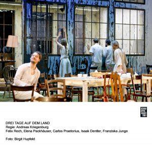 """""""Drei Tage auf dem Land"""" wurde inszeniert von Andreas Kriegenburg im Schauspiel Frankfurt. Bildquelle: Schauspiel Frankfurt"""