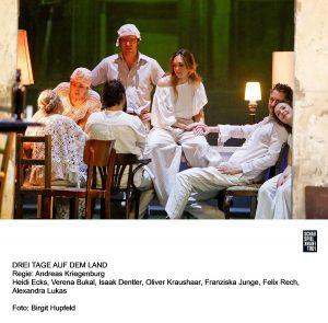 """""""Drei Tage auf dem Land"""" - eine Inszenierung von Andreas Kriegenburg am Schauspiel Frankfurt. Bildquelle: Schauspiel Frankfurt"""