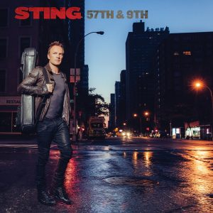"Sting - Album-Cover ""57th & 9th"", Quelle: Universal Music"