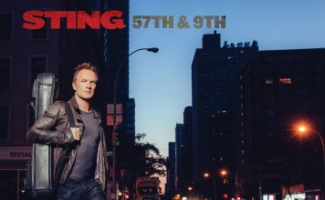 "Sting - Album-Cover ""57th & 9th"", Quelle: Universal Music"