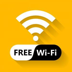 Das internationale Zeichen für WLAN bzw. WiFi. Bildquelle: Shutterstock.com