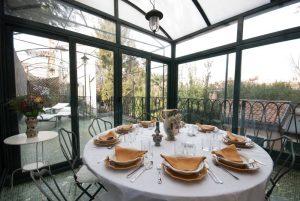 Der Wintergarten des Cinqueitalia Hauses in Venedig. Bildquelle: cinqueitalia.de