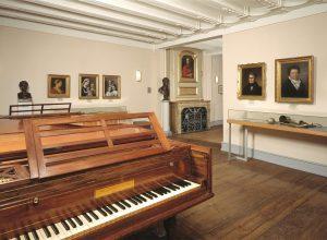 Im Geburtshaus des Bonners kann man die weltweit größe Beethoven Sammlung besichtigen. Bildquelle: Beethoven Haus