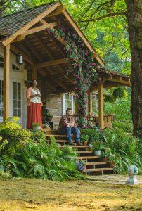 Die Hütte - ein Wochenende mit Gott. Mack im Zwiegespräch mit dem Schöpfer. Quelle: Concorde Filmverleih GmbH