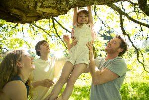 In glücklichen Zeiten - Mack und seine Kinder. Quelle: Concorde Filmverleih GmbH