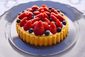Schnell und einfach gemacht - kleine Erdbeer Törtchen. Lecker! Bildquelle: Pixabay.de