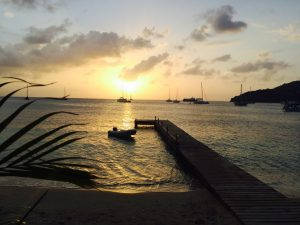 Sundowner on the terrace of the Bequia Plantation Hotel. Credit: 59plus GmbH