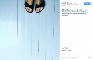 Auch die 59plus Redaktion benutzt bei Instagram gerne Hastags. Bildquelle: http://instagram.com/59plus/