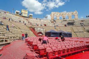 Verona ist für Open Air Konzerte ein beliebtes Reiseziel. Bildquelle: shutterstock.com