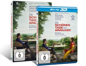 DIE SCHÖNEN TAGE VON ARANJUEZ, DVD Cover. Quelle: © 2015 Alfama Films Production / Warner Bros. Pictures Germany