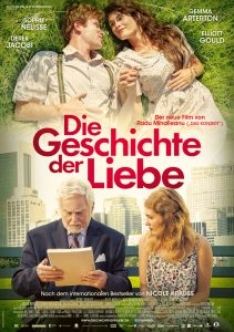 Die Geschichte der Liebe. Filmplakat. Quelle: © 2017 PROKINO Filmverleih