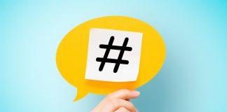 Die Raute ist das Zeichen für Hashtag und absolut gängig in den Sozialen Netzwerken. Bildquelle: shutterstock.com