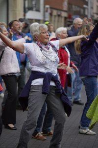 Wir fiebern dem nächsten Seniorenflashmob am 01. Oktober entgegen. Bildquelle: 59plus GmbH