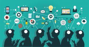 In Online-Communities tauschen sich Menschen über Probleme und Fragen aus und erhalte Antworten aus der ganzen Welt. Bildquelle: shutterstock.com