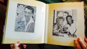 Brigitte Würtz mit dem legendären Duke Ellington. Bildquelle: 59plus GmbH