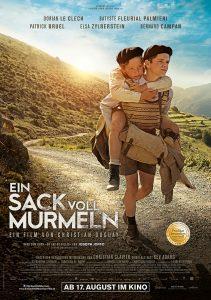 Ein Sack voll Murmeln, Kinoplakat. Quelle: ©Thibault Grabherr, Quad, Forecast, Gaumont, TF1