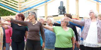 Blaue Zone 2017: Tanzimprovisation war eines der Themen. Bildquelle: Kulturzentrum Pavillon
