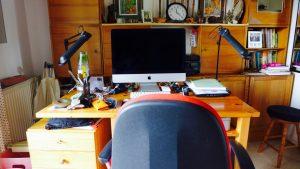 Wenn Brigitte Würtz nicht mobil unterwegs ist, dann arbeitet sie an ihrem Computer im heimischen Arbeitszimmer. Bildquelle: 59plus GmbH