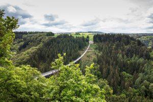 Der Gang über eine Hängeseilbrücke gibt einer Wanderung den ganz besonderen Kick. Bildquelle: Pixabay.de