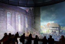 Durch das hyperrealistische Riesenrundbild bekommt der Besucher einen ganz besonderen Zugang in das Wittenberg von 1517. Bildquelle: ©asisi